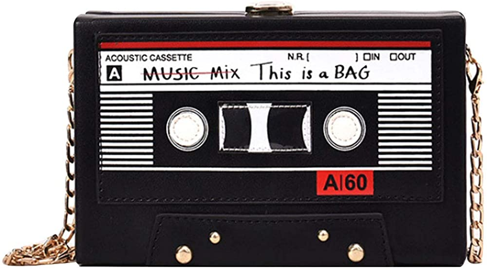 Rebecca Women Retro Radio Shape Leather Bag Surprise price Crossbody Limited time sale PU Vintage