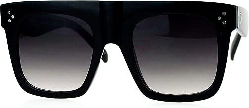 Oversized Square Sunglasses New Hip Fashion Flat Top Flat Frame