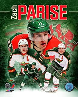 Zach Parise Minnesota Wild 2013 NHL Composite Photo 8x10