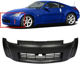 BUMPERS THAT DELIVER - Primered, Front Bumper Cover Fascia for 2003 2004 2005 Nissan 350Z 03 04 05, NI1000201