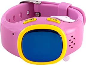 RelyEon Pink GPS Tracking Digital Watch for Kids