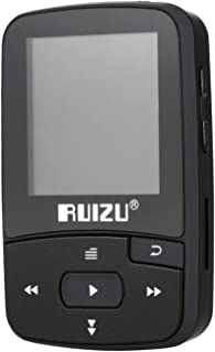 X50 8GB 1.5in MP3 Player HiFi Lossless Sound Quality BT Pedometer TF Card FM Radio Recording E-Book Time Calendar