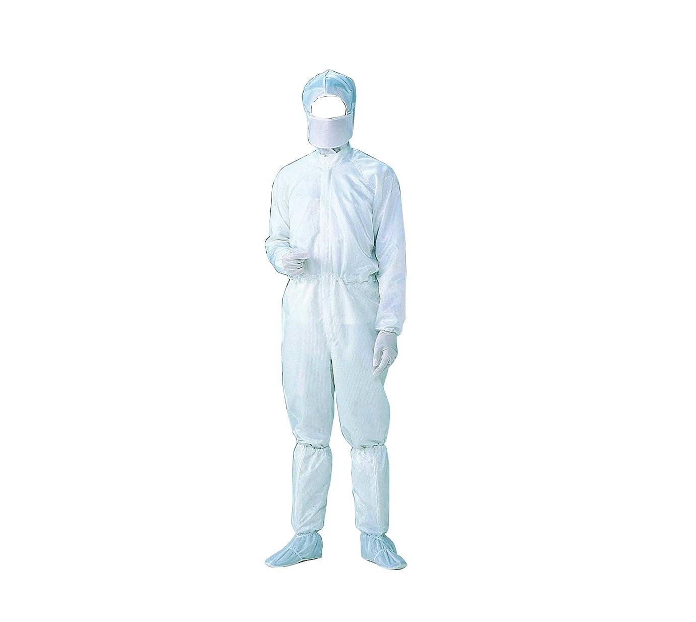 彼ら暗い拘束する無塵衣FD171C男女兼用?ホワイト 3L /6-7523-01