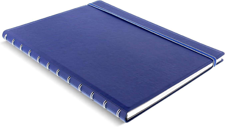 Filofax A4 Virginia Beach Mall Refillable Blue Notebook Import -