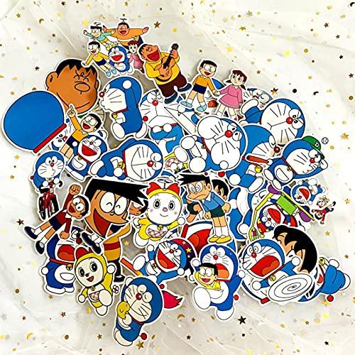 LMY Dorae Pegatinas de dibujos animados Mon Nobita Personalizado Pvc Impermeable Graffiti...