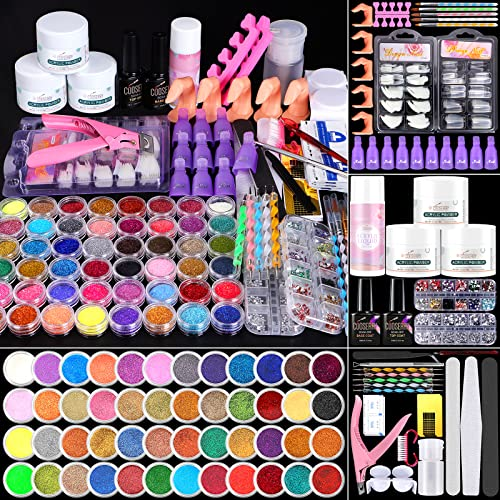 Cooserry 115 In 1 Acrylic Nail Kit