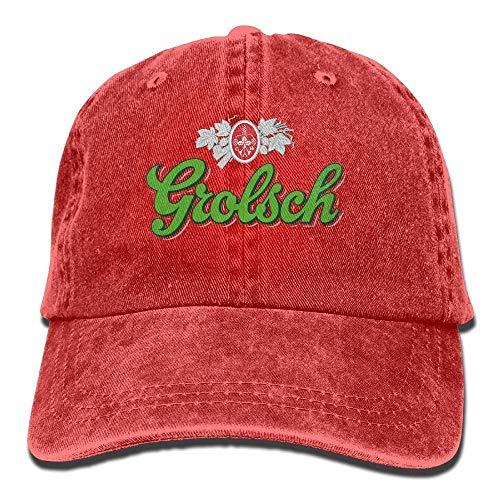 N / A Erwachsene Kappe,Visier Cap,Hüte Verstellbare,Papa Hut,Einstellbar Hiphop Baseballmützen,Adult Unisex Kappe,Grolsch Bier