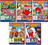 Benjamin Blümchen - DVD 21-25 im Set - Deutsche Originalware [5 DVDs] - Jürgen Kluckert, Kay Primel, Gisela Fritsch, Heinz Giese Gerhard Hahn