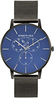 Kenneth Cole Men's Quartz Watch, Analog Display and Stainless Steel Strap KC50008006