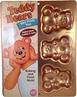 Wilton Irridescents Mini Teddy Bear Treats Cake Pan (2105-4948)