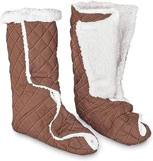 Jobar Leg/Foot Warmers - Large, Brown