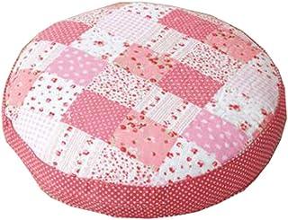 """Floor Pillow Thicken Cushion Japanese Futon Round Seat Cushion 21.6"""" x 21.6"""",A12"""