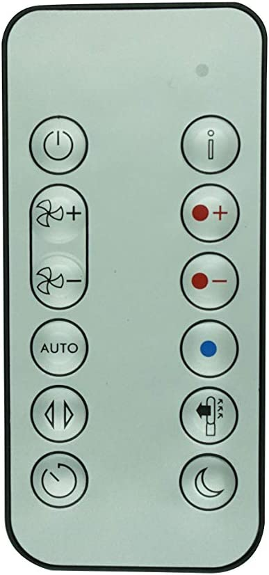 HCDZ Replacement Remote Control Las Vegas Mall for Cry DYSON Pure Hot+cool HP06 Fort Worth Mall