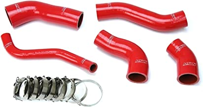 HPS Red Reinforced Silicone Intercooler Hose Kit for 13-17 Hyundai Veloster 1.6L Turbo
