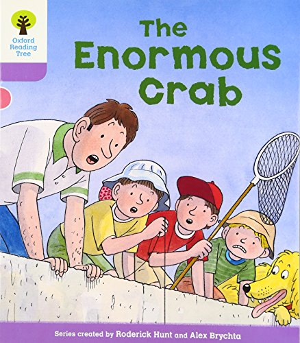 Oxford Reading Tree: Level 1+: Decode and Develop: The Enormous Crabの詳細を見る