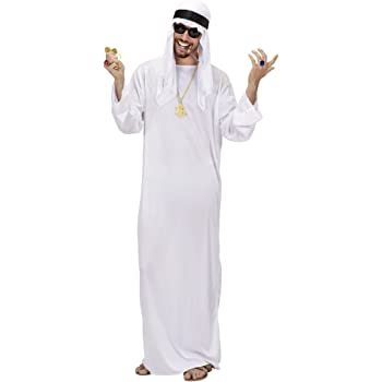 WIDMANN 7597S - Disfraz de jeque para hombre (talla XL): Amazon.es ...