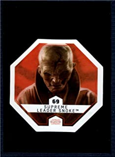 2017 Winn Dixie Star Wars Cosmic Shells #69 Supreme Leader Snoke