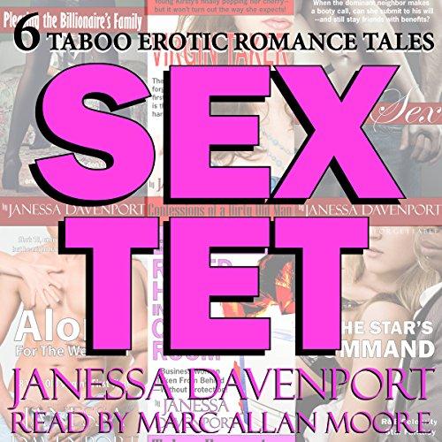 Sextet: Six Taboo Erotica Tales audiobook cover art