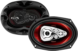$39 » BOSS Audio Systems CH6950 Car Speakers - 600 Watts of Power Per Pair and 300 Watts Each, 6 x 9 Inch, Full Range, 5 Way, So...