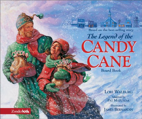 Legend of the Candy Cane Board Book