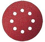 Bosch 2 609 256 A24 - Juego de hojas de lija de 5 piezas para lijadora excéntrica