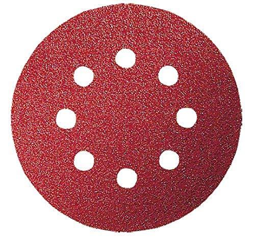 Bosch Schleifblatt (für Exzenterschleifer verschiedene Materialien, 5 Stück, Ø 125 mm, Körnung 80)