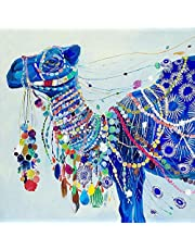 Diy Diamond Painting Kit 5D Cross Stitch Round Diamond Embroidery The Camel Diamond Mosaic Crafts