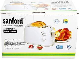 Sanford Bread Toaster, SF5742BT BS White