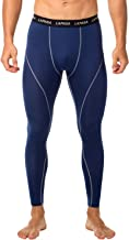 LAPASA Men's Workout Compression Pants (Tights), UV Protection Leggings (UPF50+) Quick Dry and Breathable M18/48