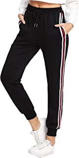 Best black and red joggers womens Reviews
