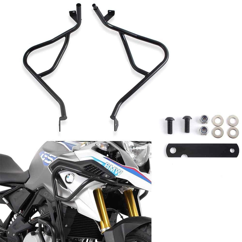 XX Ecommerce オートバイ鋼 アッパー フロントエンジン クラッシュ バー フレーム プロテクター ガード 適用車種 2017-2018 BMW G310GS G 310 GS 2017 2018