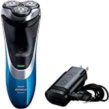Philips Norelco Shaver AT810 AquaTec Wet & Dry Electric Series 4000 Cordless Shaver with Power Cord, Super Lift & Cut Tech...