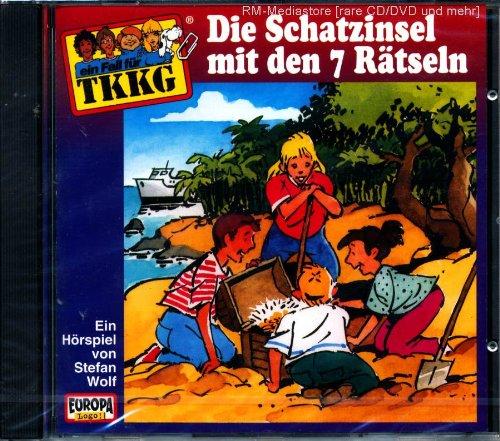 Tkkg - Die Schatzinsel mit den 7 Rätseln [Audio-CD]