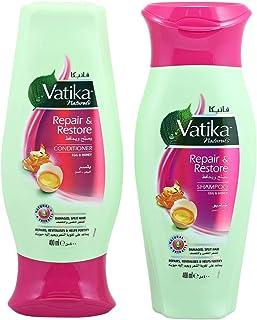 Vatika Repair and Restore Shampoo and Conditioner Value Pack