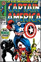 Licenses Products Marvel Comics Captain America Cover Magnet