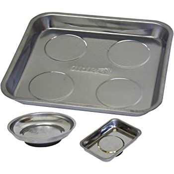 Grip 3 pc Magnetic Parts Tray Set