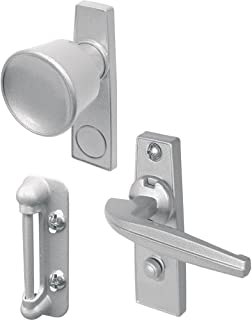 Prime-Line Products K 5000 Tulip Knob Latch Set for Screen or Storm Door, Aluminum