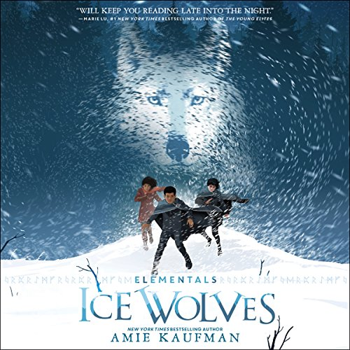 Elementals: Ice Wolves audiobook cover art