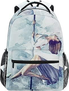 Travel Daypack Laptop Backpack College School Package Bookbag for Women Men Pylon