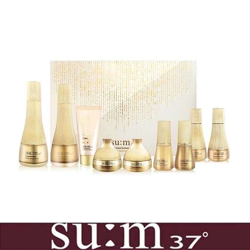すでに鉱夫同志[su:m37/スム37°]LosecSumma Premium 2PCS Special Limited Skincare Set/2種プレミアムスペシャルリミテッドスキンケアセット + [Sample Gift](海外直送品)
