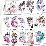 Unicorn Temporary Tattoos for...