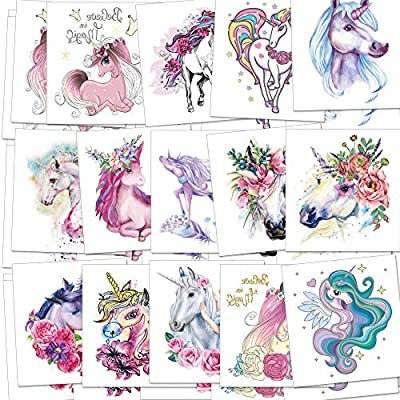 Unicorn Temporary Tattoos for