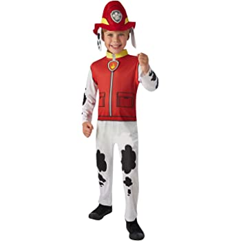3-4 A/ños Costume Everest Moderno S Rubies Paw Patrol Multi-Colored