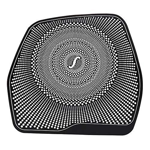 Beennex Car Dashboard Audio Speaker Loundspeaker Cover Sticker Trim for M-e-r-c-e-d-e-s Benz C Class W205 C180