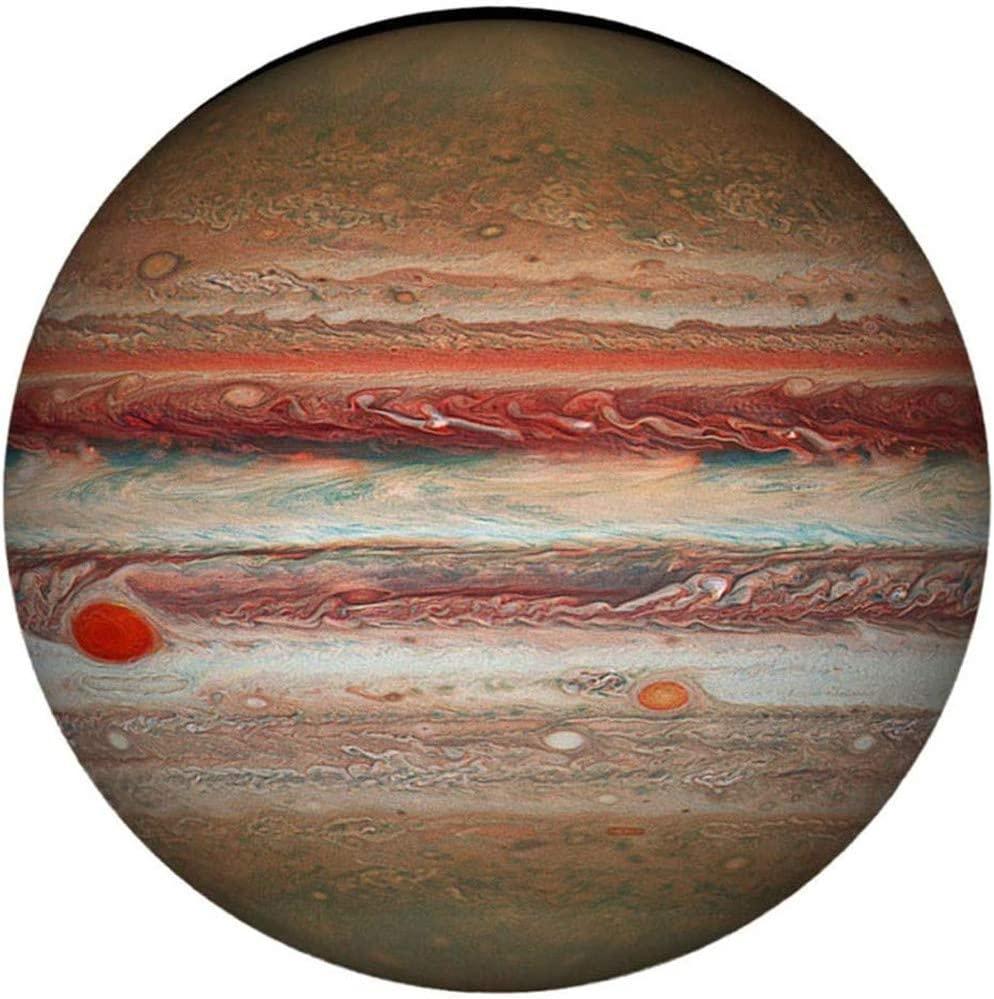 Jupiter 1000 Piece Puzzles for Adults Teen Jupiter Large Round Jigsaw Puzzle Difficult and Challenge