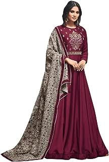 Designer Collection Embroidered Zari Hand work Indian Anarkali Salwar Suit Ethnic wear women gown Ceremony Muslim 761 5