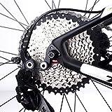 Lixada 9 Velocidades 11-40T MTB Bicicleta de Montaña Bicicleta Cassette Piñón Rueda Libre (10 Velocidad 11-42T)
