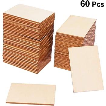 Bar/ús Tableros MDF Elige tu Pack a Medida: Espesor 5mm 60 x 60 cm //// Pack de 2