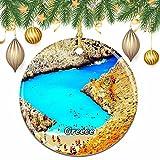 Grecia Seitán Limania Beach Navidad árbol de Navidad decoración de la Boda Colgante Colgante decoración Ciudad Viaje colección de Recuerdos