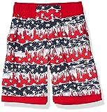 Columbia Sandy ShoresTM Pantalones Cortos, Bañador Sandy ShoresTM, Niños y bebé, Color Orgullo Rojo de montaña al Aire Libre, tamaño Large